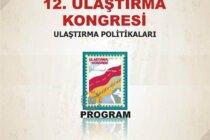 12. Ulaştırma Kongresi 24-26 Mayıs'ta Adana'da