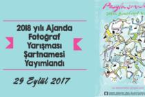 """2018 Yılı Ajandası Fotoğraf Yarışması """"Paylaşmak"""""""