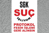 SGK'ya Faks ve Dilekçe Eylemine Çağrı