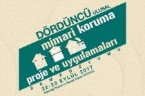 4.Ulusal Mimari Koruma Proje ve Uygulamaları Sempozyumu 22-23 Eylül'de