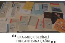 EKA-MBÇK Seçimli Toplantısına Çağrı