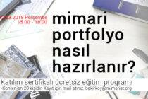 Ücretsiz Eğitim Programı: Mimari Portfolyo Nasıl Hazırlanır?