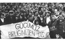 1 Mayıs Birlik, Mücadele ve Dayanışma Günü'nü Kutluyoruz