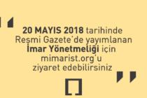 20 Mayıs 2018 Tarihli 'İstanbul İmar Yönetmeliği' Yayımlandı