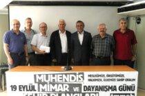 TMMOB İstanbul İKK, 19 Eylül MMŞP Günü'ne İlişkin Basın Açıklaması Gerçekleştirdi