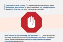COVİD-19 Tedbirleri Kapsamında Şantiyelerde Alınacak Önlemlere İlişkin Bakanlık Genelgesi Hakkında