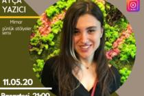 Canlı Yayın: Genç Mimarist Megaron Buluşmaları'na Ayça Yazıcı Konuk Olacak