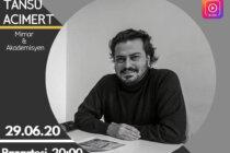 Canlı Yayın: Genç Mimarist Megaron Buluşmalarına Dr. Tansu Acımert Konuk Olacak
