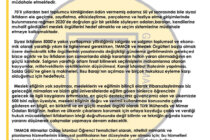 Mimarlar Odası İstanbul Öğrenci Temsilcilerinden Yasa Değişikliğine Dair Açıklama