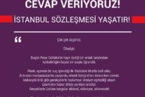 """""""İstanbul Sözleşmesi'ni Halka Sorarız""""a Cevap Veriyoruz!"""