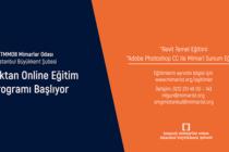 Mimarlar Odası İstanbul Büyükkent Şubesi Online Eğitim Programı