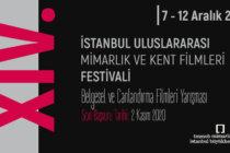 XIV. İstanbul Uluslararası Mimarlık ve Kent Filmleri Festivali Şartnamesi Yayımlandı!