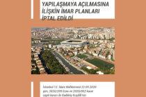 Kadıköy Kuşdili'nin Yapılaşmaya Açılmasına İlişkin İmar Planları İptal Edildi