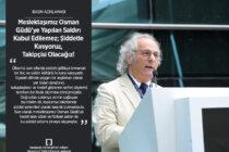 Meslektaşımız Osman Güdü'ye Yapılan Saldırı Kabul Edilemez;Şiddetle Kınıyoruz,TakipçisiOlacağız!