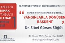 """""""Yangınlarla Dönüşen Başkent"""" Semineri 14 Nisan'da!"""