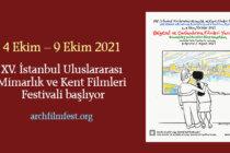 XV. İstanbul Uluslararası Mimarlık ve Kent Filmleri Festivali Başladı!
