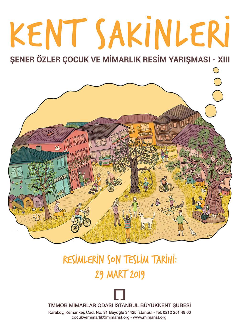9. Şener Özler Çocuk ve Mimarlık Resim Yarışması 45